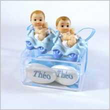 Dragées jumeaux garçons