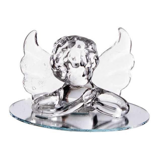 Top Dragée ange pour baptême garçon VL37