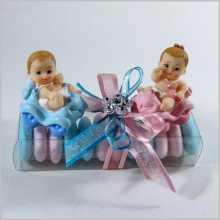 Bonbonnières jumeaux fille et garçon