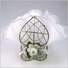 Bonbonnière-coeur en métal